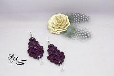 Soutache earrings Soutache jewelry