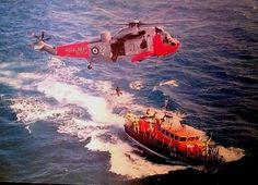 Ex Lizard Lifeboat David Robinson on exercise