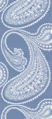 Cole & Son - blue and white / kashmir tapéta, 1-877-229-9427 Special pricing available! www.eadeswallpaper.com #interior #wallpaper #decor #home
