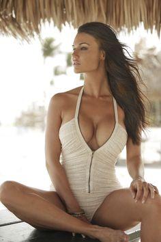 love that swimsuits texture & zipper