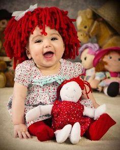 Etsy Raggedy Ann Beanie Wig