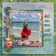 I Belong to the Sea by Key Lime Digi Design - Scrapbook.com