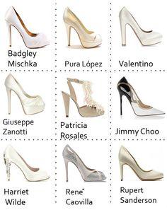 ¡Una pequeña ayudita con esos zapatos tan importantes! Para todas aquellas románticas y clásicas los colores perfectos son el rosa nude, el blanco roto, el malva, el beige o forrados de encaje o de la misma tela de tu vestido.
