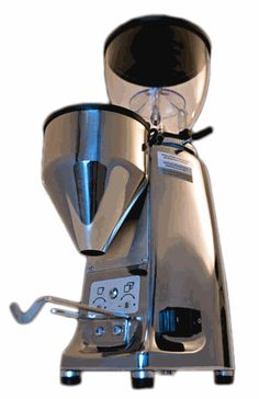 mazzer mini in polished aluminium, possibility to order Robur or Kony in this finish, I think I saw them in Vienna 2012.