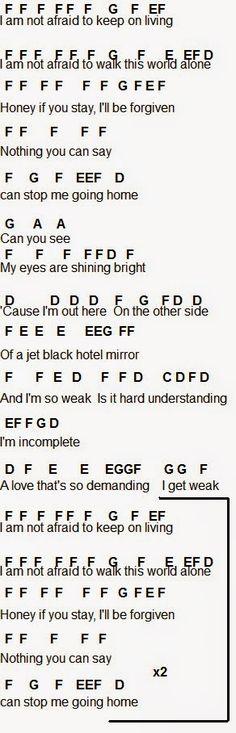 Flute Sheet Music: Famous Last Words