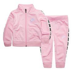 hot sale online 067fc 85977 Baby Girl Nike Track Jacket   Pants Set
