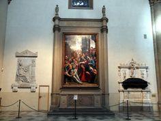 notizie  G.M.  guido michi: Basilica di Santa Maria Novella, Navata sin, Santi...
