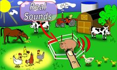 Your Kids can now enjoy Animal Farm with real Animal Sounds. Watch your children having loads of fun with this simple, yet entertaining application. It can be used even by youngest babies and help them discover the world with colorful hand drawn images. <br/><br/>Tapped animal will let you know what is the sound it makes. On top of that it will animate. In the background you can actually hear real life farm birds and other nature sounds. <br/><br/>Give your child a chance to embrace state of…