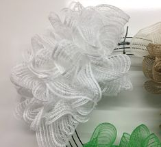 Exploring the Pull Through Wreath Method with Assorted Mesh - Trendy Tree Blog