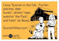 Longing for fall in Wisconsin.