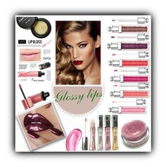 """""""Glossy lips"""" by mk19972000 ❤ liked on Polyvore featuring beauty, Kari Gran, Eve Snow, Bomedo, Charlotte Tilbury, Christian Dior, NARS Cosmetics, Bourjois, L'Oréal Paris and Chantecaille"""