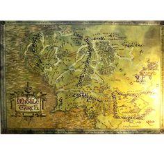 The Hobbit Karte Herr d. Ringe