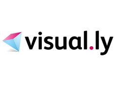 Visual.ly is a startup that helps to make and show off interesting infographics, and aims to present data in a more interesting manner. Thei...