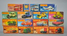 Lot 697 - 15 x Lesney Matchbox Superfast models, appear overall VG in G-VG boxes.