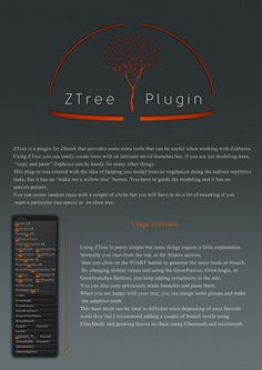 http://www.zbrushcentral.com/showthread.php?184042-ZTree-Plugin