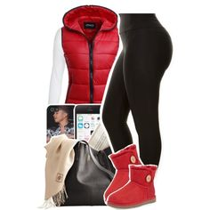 A fashion look from November 2014 featuring long sleeve tops, high waisted zipper pants and short booties. Browse and shop related looks.
