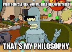 Bender. Futurama.