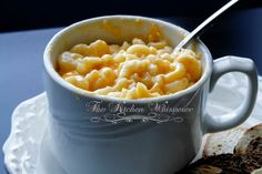 The Kitchen Whisperer Creamy Mac 'n Cheese For One