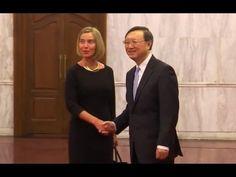 EU-China Strategic Dialogue: Mogerini & Jiechi