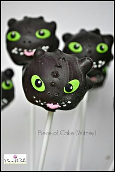 How to train your dragon cupcakes toothless love it pinterest av bakerella ccuart Choice Image