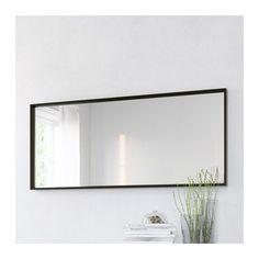 NISSEDAL Miroir - noir - IKEA