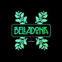 BELLADONA | Free Font on Behance | Art Nouveau Retro Type