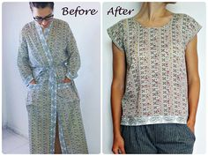 Restyling Exchange 2017   Easy DIY top from a gown...