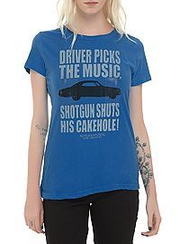 Shop for the latest supernatural, pop culture merchandise, gifts & collectibles at Hot Topic! From supernatural to tees, figures & more, Hot Topic is your one-stop-shop for must-have music & pop culture-inspired merch. Supernatural Merchandise, Supernatural Outfits, It's Supernatural, Disney Outfits, Cute Outfits, Disney Clothes, Hot Topic, Shirt Outfit, Cool Shirts