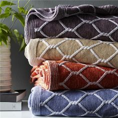 Koo Cotton Waffle Blanket Throws Blankets Bedding Bed Spotlight Australia R O M U P D A T E Pinterest Bedrooms And