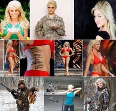 "Miss America's Sgt. Theresa Vail is the first contestant to show tattoos. She's an expert marksman, boxer, hunter, skydiver, and mechanic. She has been in the Army National Guard since she was 17 years old, and is a senior at Kansas State- with a dual major in Chinese and chemistry. ""No one expects a soldier to be a beauty queen, but I'm all about breaking stereotypes."" #Army"