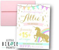 Hey, I found this really awesome Etsy listing at https://www.etsy.com/listing/479699892/unicorn-birthday-invitation-unicorn