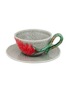 Mostrar detalhes para Chávena Chá com Pires Alpínia