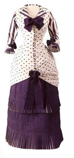Lady dress worn in the table Bartholomew Albert Bartholome 1880