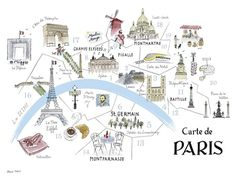 Maps are cool as they are. But hand-drawn maps? Way cooler! {Images by Alice Tait}