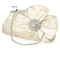Chic Plain Crystal Bow embellished Small Clutches, Single Deck  Read More:     http://www.weddingsred.com/index.php?r=chic-plain-crystal-bow-embellished-small-clutches-single-deck-c110410.html