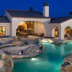 Natural Private Residence - eclectic - pool - dallas - by Pool Environments, Inc.