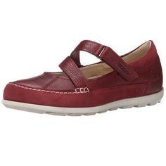 Ecco Women's Shoe Cayla Mary Jane Flat.
