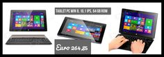 "VOYO A1 10.1"" IPS Quad Core Windows 8 Detachable Tablet PC w/ 2GB RAM, 64GB ROM, Wi-Fi - Blue Euro 264,85 free shipping"