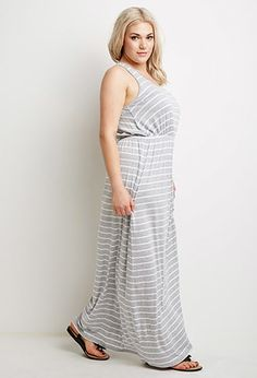 Striped Maxi Dress | Forever 21 PLUS - 2000053330