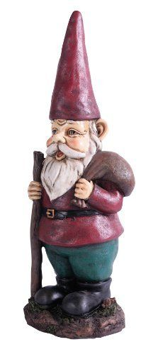 Kelkay 4816 Midi Hiking Gnome by Kelkay. $24.99. Exclusive and unique design. Designed for both indoor and outdoor use. Durable Resin-Stone. An ideal gift. Kelkay Gnomes for Homes. This new assortment of Gnomes has been exclusively designed by Kelkay to have a traditional and authentic appearance. Made from durable resin-stone and designed for both indoor and outdoor, each Gnome is a great addition to any home or garden. Each Gnome has its own individual story...