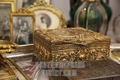 Stock Photography image of antique jewelry box at the antique market in stock photo pd2374308.jpg