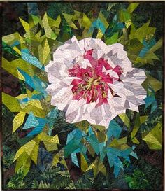 """Peony Cora Louise, 39"""" x 34"""", by Ann Harwell"""