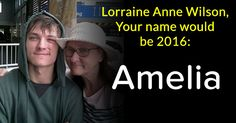 What would your name be if you had been born this year?