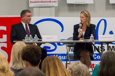 District G candidate forum - candidates Greg Travis, Sandie Mullins Moger