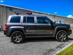 With STU Coils Jeep Patriot Sport, Grand Vitara, Jeep Renegade, Jeep Truck, Jeeps, Compass, Offroad, 4x4, Trucks