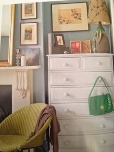 Farrow and Ball's Lulworth Blue Blue Bedroom, Master Bedroom, Bedroom Decor, Diy Interior, Interior Styling, Farrow And Ball Lulworth Blue, Farrow And Ball Paint, Wall Colors, Paint Colors