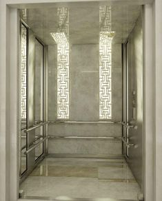 Stone & ceiling to wall integrated lighting.