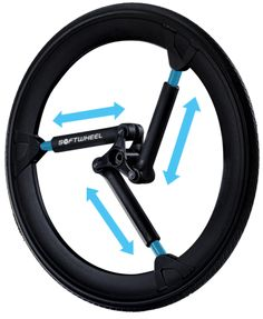 Softwheel | The Wheel Reinvented for wheelchairs, bicycles, and automobiles