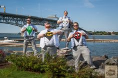 Hero, super hero, wedding, Yorktown, Virginia wedding photographer, Time Stopped Photography, Groomsmen, Super Grooms, I Do