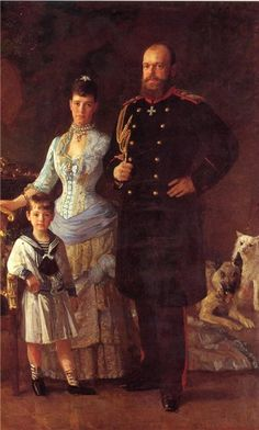 * Story of a painting G.D. | Mikhail Alexandrovich Romanov